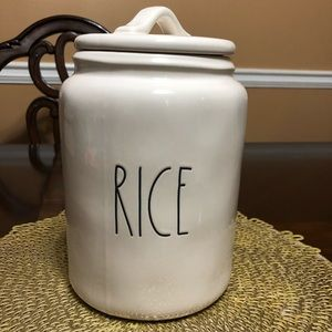 Rae Dun Rice Canister